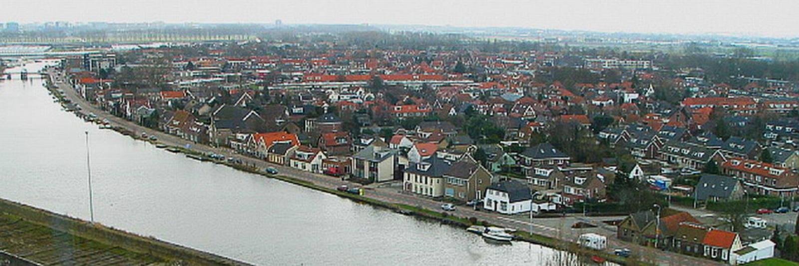 Zwanenburg 2010± Panorama vanaf Suikersilo