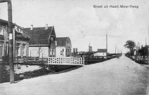 IJweg W 0067-61 1930 zicht naar Ringvaart en Dommekracht