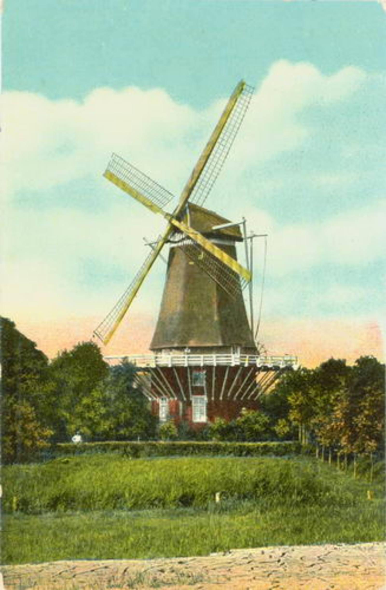 Zwanenburgerdijk 0520+ 1916 Dommekracht Ingekleurd