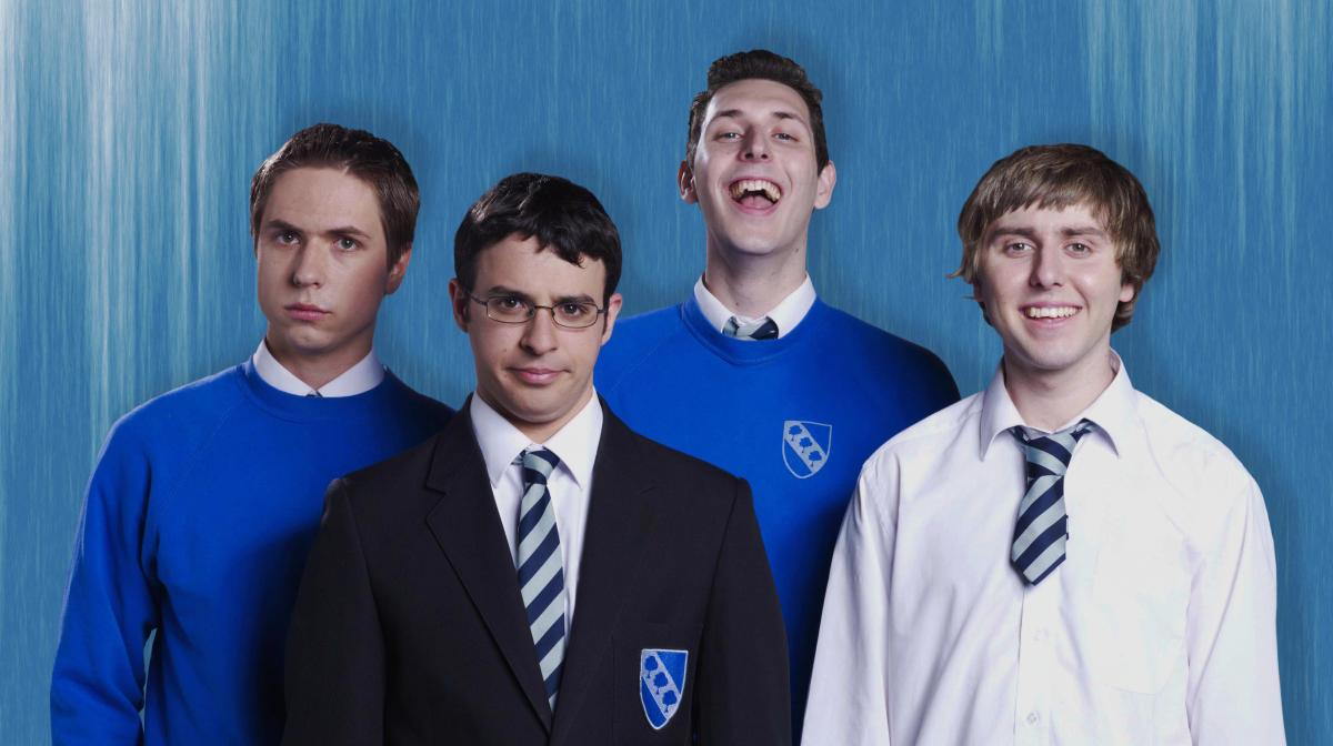 c181d377 Fwends reunite and bus wankers gather – it's The Inbetweeners 10th Birthday  Party (w/t)