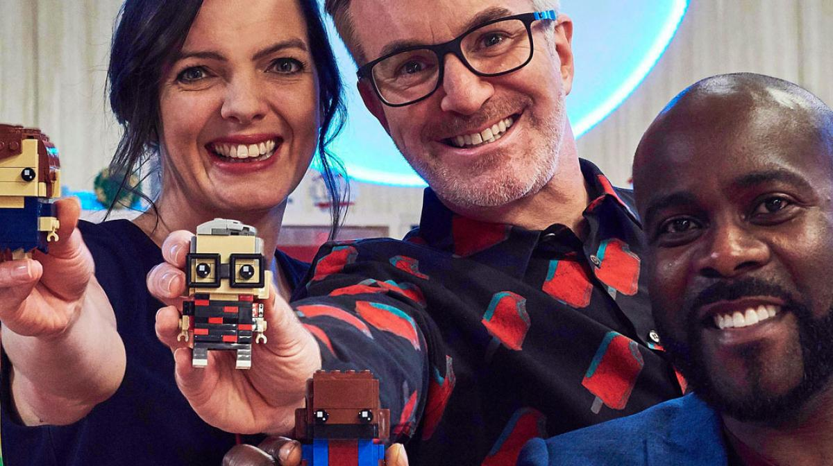 Lego Masters Judges and presenter