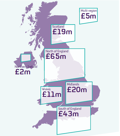 How Channel 4 spends it money across the UK