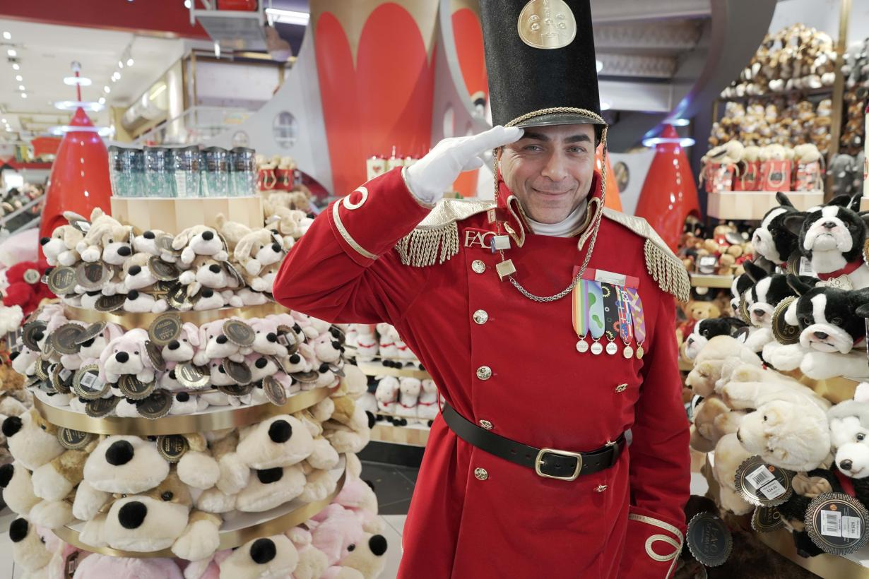 Inside the Toy Factory at Christmas