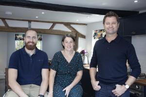 Gemma and Dan Walker Wheaton Aston with George Clarke