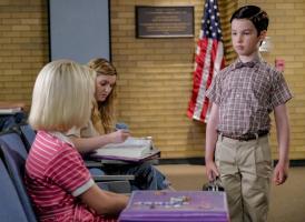 Paige (McKenna Grace) and Sheldon (Iain Armitage)