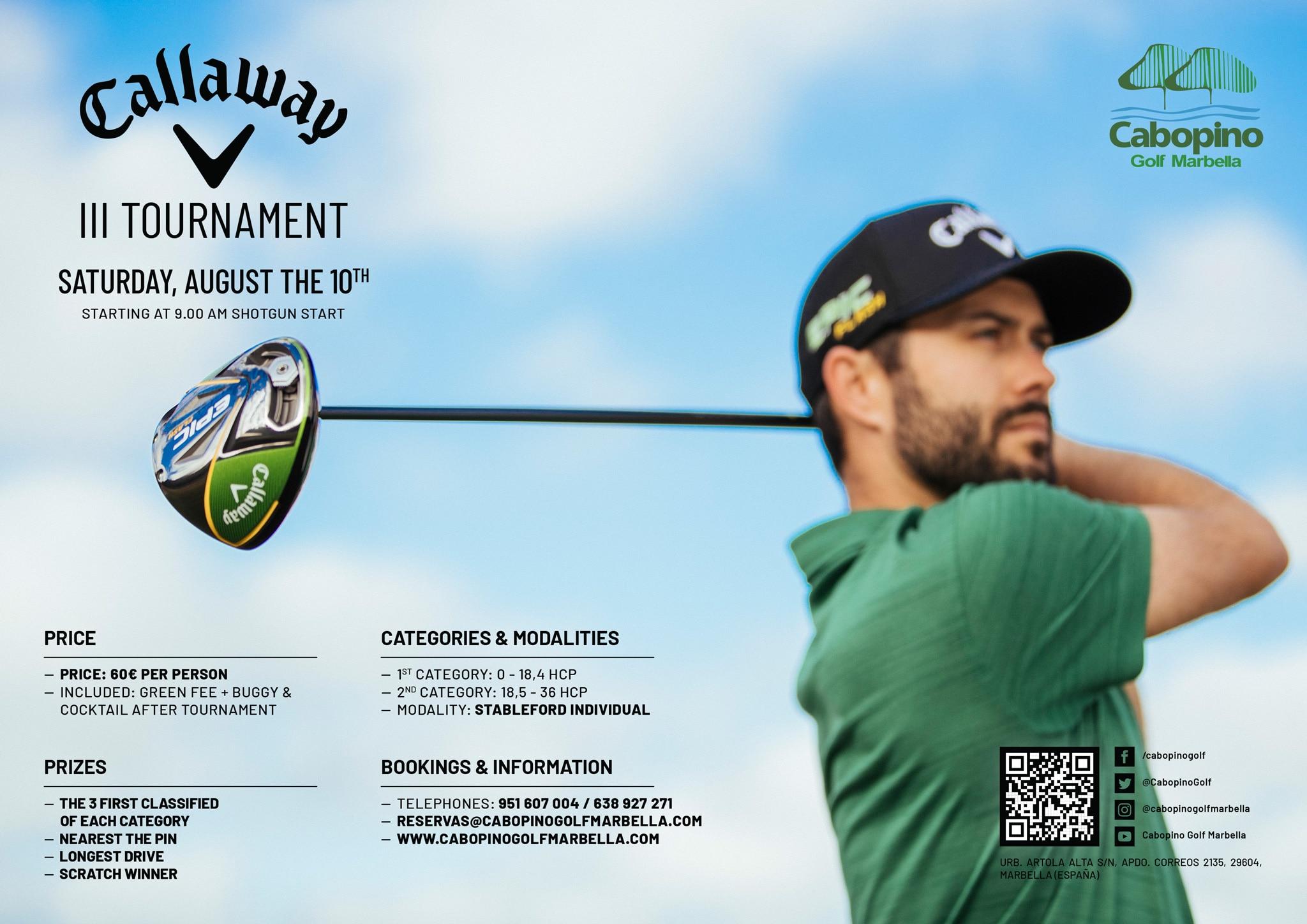 III Callaway Tournament