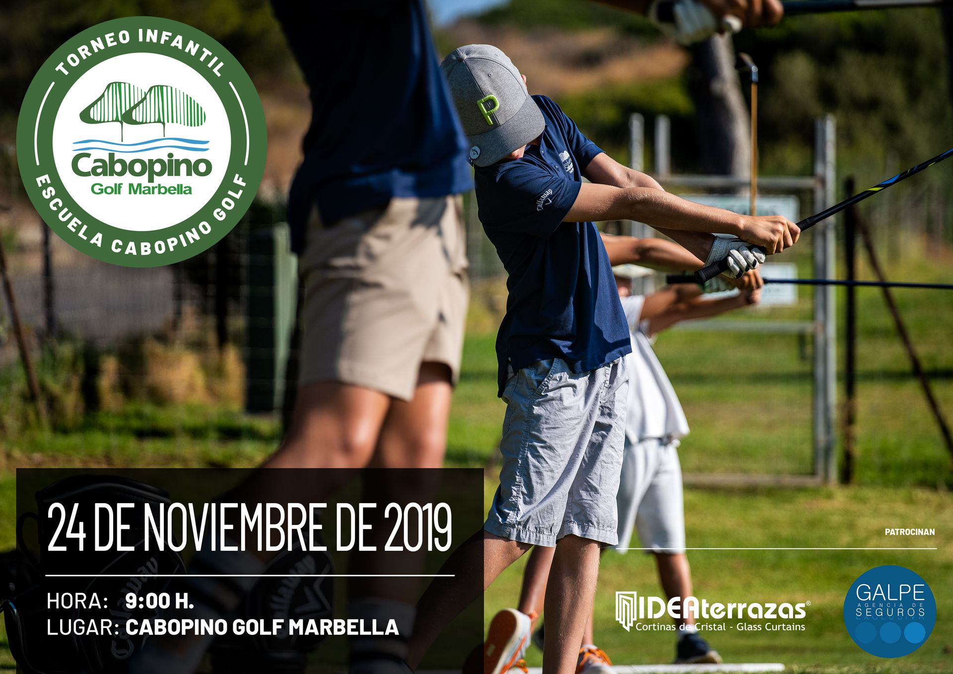 Cuarto Torneo Infantil Escuela Cabopino Golf