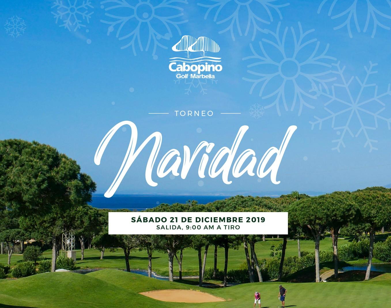 Torneo de Navidad Cabopino Golf 2019