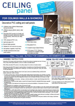 Ceiling Cladding Install Guide