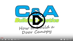 Door Canopy Assembly Video