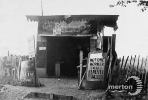 Bert's refreshment bar