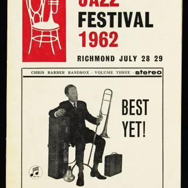 Chris Barber's Jazz Band with Ottilie Patterson, National Jazz Festival, Richmond - 1962 001
