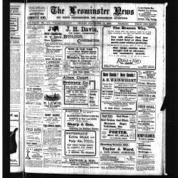 Leominster News - November 1914