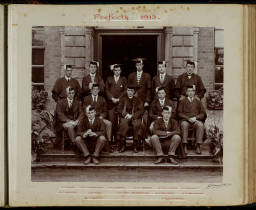 Photograph Album - 1911-1916_0022 Warden & Prefects 1913.jpg