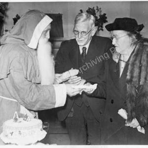 Grenoside Pensioners Committee Christmas Party c1956 7