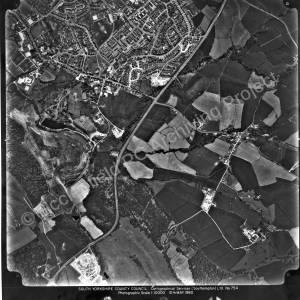 Aerial photo. High Green 1980