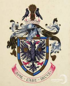 Borough of Wimbledon Coat of Arms