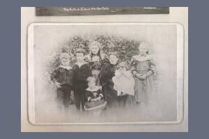 Edwin Powell and Leonard Powell - Family Photograph taken in 1895
