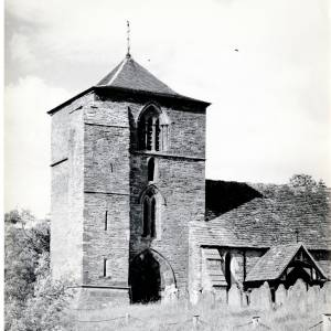 St Michaels Church, Ewyas Harold, c 1949