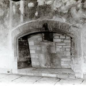 Bishopstone Court, fireplace, 1934.