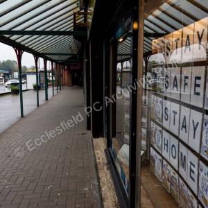 Lound Court Shops during Corona Virus Lockdown 2020