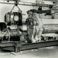 Deltic 18-25M engine: Napier