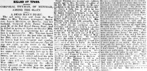 Newspaper Extract - James John Twyman