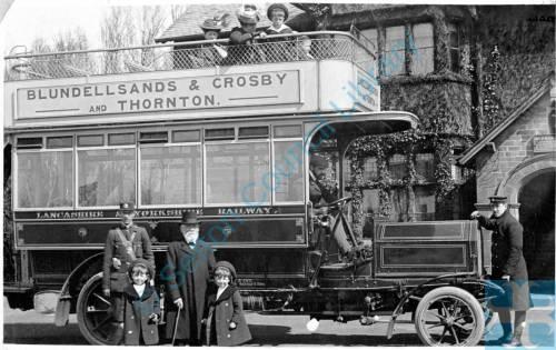 Thornton 1907, Lancashire & Yorkshire Bus, Nags head