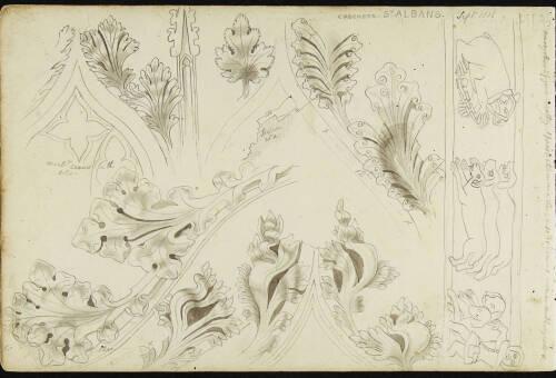 Page 2 of sketchbook 3