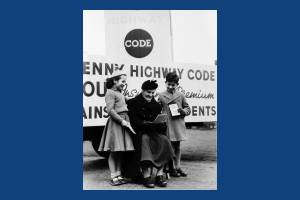 Presentation of Highway Code story from Pat Scannell