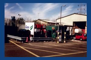 Gas station in Garth Road, Lower Morden