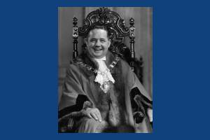 Councillor E.E. Mount, Mayor 1953-1954