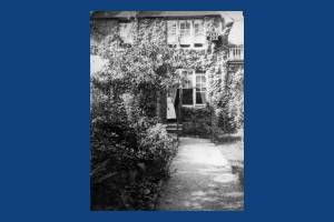 H.G.Quartermain's garden, 'The Oriels',  Kingston Road