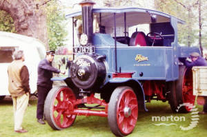 Wandle Park, Colliers Wood, Steam Rally.