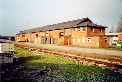 Hereford goods yard, c.1990