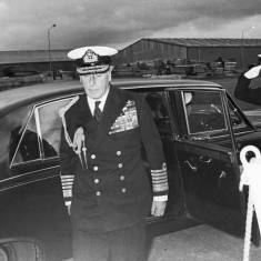 Admiral of the Fleet, Earl Mountbatten of Burma
