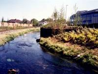 Walk to rear of Savacentre near the River Wandle, Colliers Wood