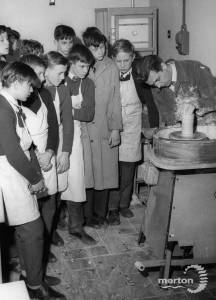 Western Road School: Pottery Demonstration