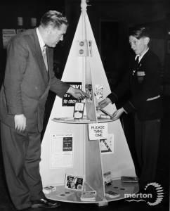 Road safety display, Morden British Legion Hall