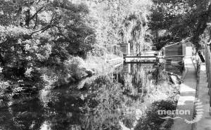 The River Wandle, Merton Abbey Mills