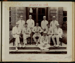 Photograph Album - 1911-1916_0034 Cricket XI 1915.jpg