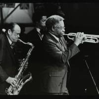 Arnett Cobb and Wallace Davenport (left to right)