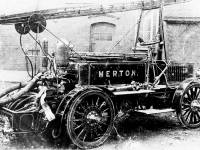 Merton & Morden Fire Brigade: Merryweather Fire Engine