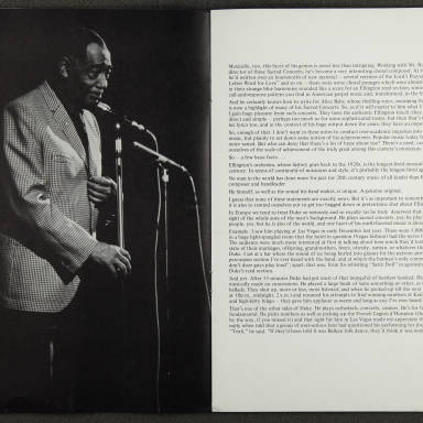 Duke Ellington Orchestra British Tour – November 1973 003