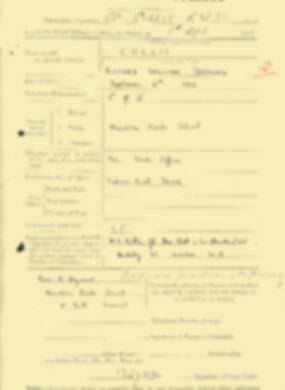 RMC Form 18A Personal Detail Sheets Feb & Sept 1933 Intake - page 178