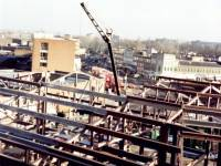 Construction of new Civic Centre and library extension, Morden