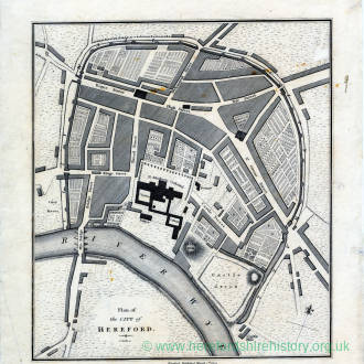 Plan of the City of Hereford 1804