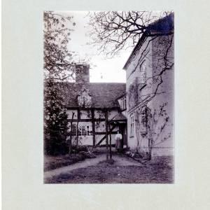 Aylton Court Farm with Mrs Roberts, 1910