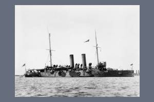 HMS Hawke - Albert Dynes