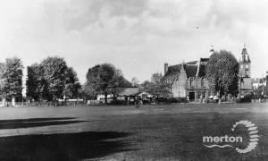 Cricket Green and Vestry Hall, Mitcham